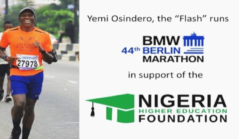 Berlin Marathon for NHEF
