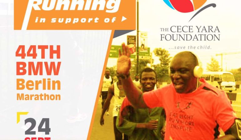 Running for Cece Yara Foundation's Child Advocacy Centre